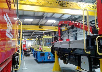 Zone montage vehicules